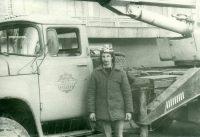 На подобном автокране Юрий Митин отправился ликвидировать последствия чернобыльской катастрофы.