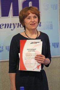 Педагог Нина Васильева стала отличницей ТД со второй попытки.Фото Максима ВАСИЛЬЕВА