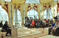 На пресс-конференцию Главы Чувашии было аккредитовано 65 журналистов. Фото Олега МАЛЬЦЕВА