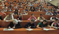 В ЧГУ диктант писали 350 человек, в Национальной библиотеке – 61, в гимназии № 6 – 39.Фото Олега МАЛЬЦЕВА