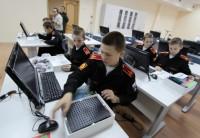 Будущим защитникам Родины не обойтись без знания информационных технологий. Фото с сайта Пермского суворовского училища