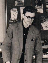 Анатолий Брындин - художник Дома политпросвещения, 1961 год