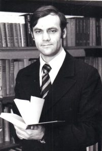 Н.Муратов - студент университета марксизма-ленинизма, 1981 год