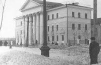 Дом политпросвещения в Йошкар-Оле. 1950-е годы.