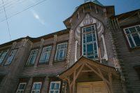 Двухэтажное здание строилось в 1908–1910 годах по проекту симбирского архитектора Федора Ливчака.Фото Максима ВАСИЛЬЕВА