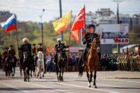 5 мая прошла генеральная репетиция парада.Фото Максима ВАСИЛЬЕВА
