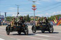 Отечественная военная мототехника всегда славилась надежностью.Фото Максима ВАСИЛЬЕВА