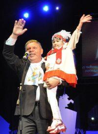 Гость одного из фестивалей Александр Пятков встречался не только с чебоксарцами, но побывал и в Цивильске.Фото Олега МАЛЬЦЕВА из архива редакции