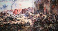 «Защитники Брестской крепости». Картина Петра Кривоногова.