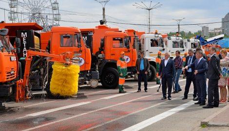 Спецтехнику на газовом топливе планируют закупить и для других городов республики. Фото www.cap.ru