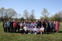 Состоялся  необычный футбольный матч, в котором состязались представители одаренной молодежи