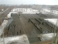 Плац воинской части в г. Муром.