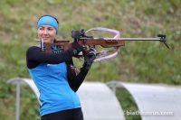 Стрельба, как считает сама Татьяна, является ее слабым местом в биатлоне.Фото: biathlonrus.com