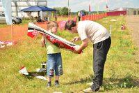 – Папа, а как же он летает?Фото: cap.ru