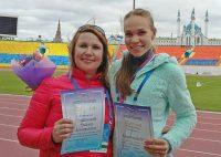 Талантливая Мария Владимирова и ее мама Надежда.Фото администрации Канаша