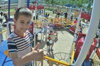 Среди наказов избирателей не только детсады и школы, но и игровые площадки. Фото Олега МАЛЬЦЕВА