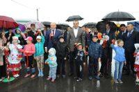 Дождь не омрачил деревенского праздника.Фото cap.ru