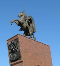 Памятник Чапаеву. Чебоксары.