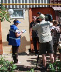 Журналистам показали, как работает переписчик. Фото Чувашстата