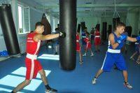 Боксерские груши и мешки мерно раскачивались под ударами спортсменов.Фото Олега МАЛЬЦЕВА