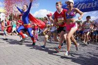Забег в Екатеринбурге превратился в большой спортивный праздник.Фото rg.ru