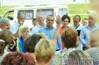 Жители Новочебоксарска во время встречи с Главой республики интересовались не только вопросами здоровья, но и спрашивали, почему трудно дозвониться до Фонда капитального ремонта. Фото Олега МАЛЬЦЕВА