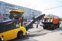 Ремонт автомобильной дороги на улице Винокурова подрядчики планируют закончить в октябре.