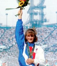 Елена Николаева в победной Атланте. Фото из архива редакции