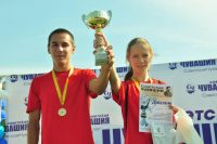 Для многих легкоатлетов эстафета стала началом спортивной карьеры.Фото Олега МАЛЬЦЕВА из архива редакции