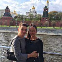 А еще у Славы с Таней была возможность немного погулять по Москве.Фото СДЮСШОР-2