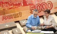 Единовременную выплату в пять тысяч рублей получат 43 млн. россиян.Коллаж «СЧ»