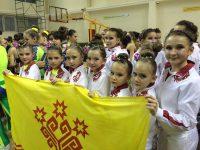 Самая юная чебоксарская команда «Малышки» (девочки от 8 до 10 лет) вышла в финал соревнований.