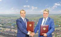 Документы подписаны. Теперь – за работу. Коллаж «СЧ». Использованы фотографии cap.ru и airfoto.cheb.ru
