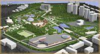 В первоначальном проекте торговый центр не предусматривался.