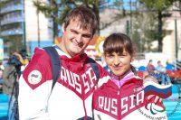 Елена и ее супруг, легкоатлет из Ростовской области, Владимир Свиридов выступали в Подмосковье вместе.
