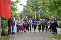 По дорожкам московского парка пробежались около сотни человек.Фото cap.ru