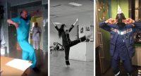Врачи из многих регионов России тоже выложили в Интернет свои танцевальные ролики.