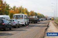 Дорога Чебоксары – Сурское очень оживленная.Фото zarulem.ws
