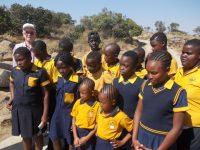 В Национальном парке Крюгера Геннадию Трифонову довелось пообщаться с африканскими школьниками.