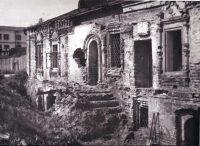 Главный фасад старого дома, 1980 год.
