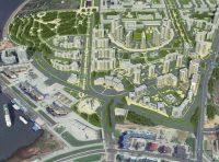 Доминантой застройки Восточного косогора в очередном проекте предложено сделать «венец» из высоток.