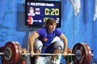 Наталья Хлесткина – надежда тяжелой атлетики республики. Фото Минспорта Чувашии
