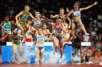 Татьяна Петрова (№ 2782) на олимпийской дистанции в Пекине. Фото ТАСС.