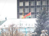 Посольство Беларуси в Москве. Вид со двора дипмиссии.Фото автора
