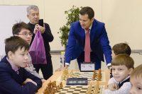 Юрий Бычковский был среди болельщиков