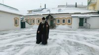 Уже семь лет наместник монастыря – архимандрит Василий.
