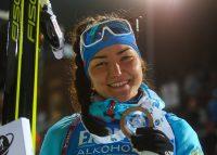Таня призналась, что ей понравилось обгонять лидеров мирового биатлона.Фото с сайта biathlonrus.com
