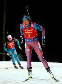 На соревнованиях в Чехии Татьяна Акимова продемонстрировала самый быстрый среди россиянок ход.Фото championat.com