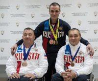 Юрий Степанов, Рамиль Гарифуллин, Павел Попов (слева направо) продолжили череду удачных выступлений российских спортсменов.Фото Максима ВАСИЛЬЕВА