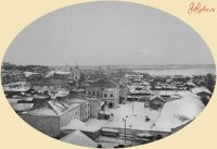 Вид на город Чебоксары из окон дома Николая Ефремова. Конец 1910-х гг.Фото с сайта etoretro.ru